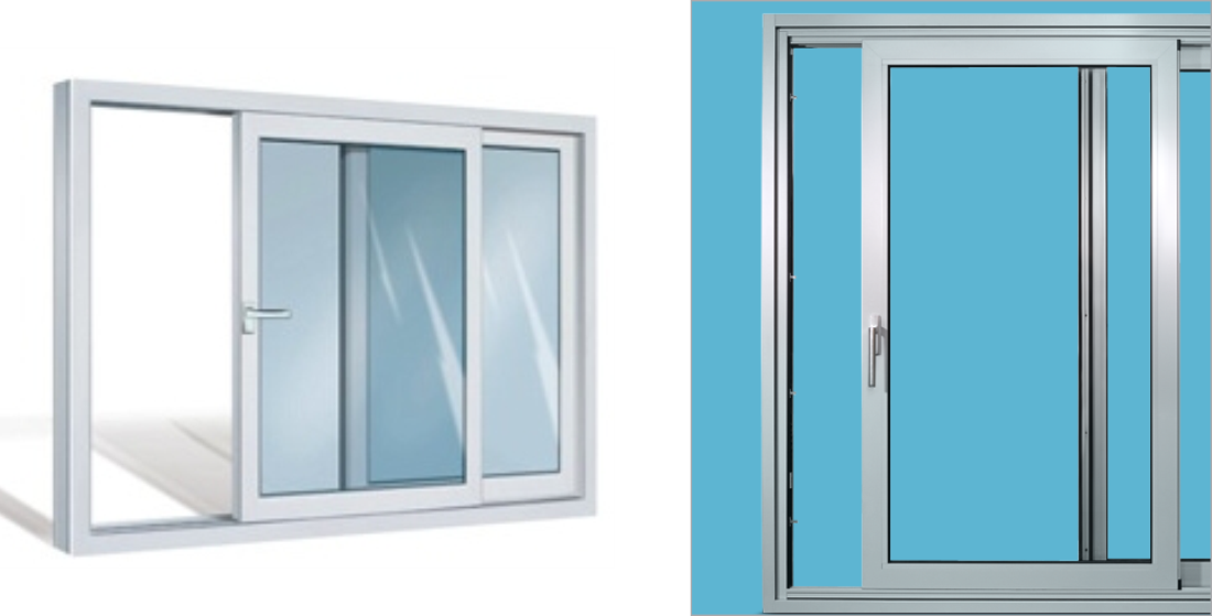 Pvc And Aluminium Parallel Sliding Tilting Doors Roplast